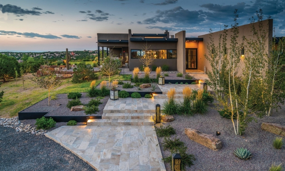 A stunning southwestern contemporary home in Santa Fe