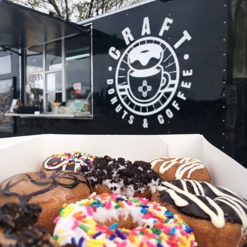 Craft Donuts & Coffee food truck