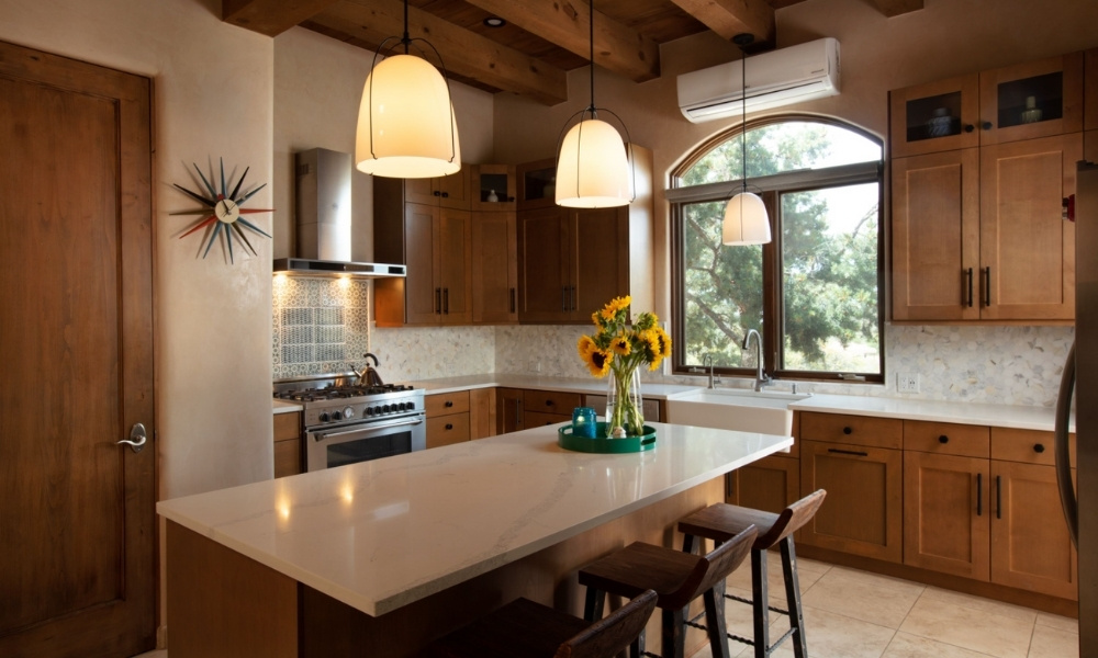 A functional southwester kitchen