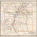 An old map of New Mexico