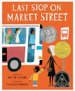 The book cover of Last Stop on Market Street