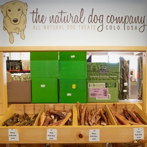 The Critters & Me specializes in natural pet products.