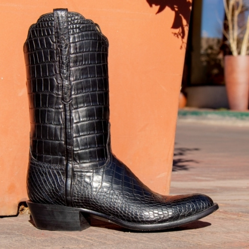 "The ""Baron"" boot by Lucchese"