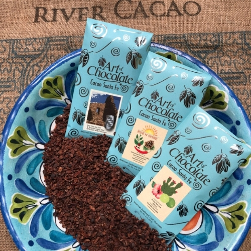 The Art of Chocolate/Cacao Santa Fe's handcrafted chocolate bars