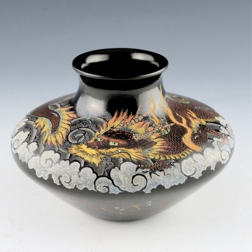 "Jennifer Tafoya's ""Dragon Jar"""