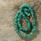 A strand of turquoise