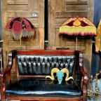 More than thirty vendors offer their unique, eclectic wares at the Santa Fe Antiques @ Valdes Mall.